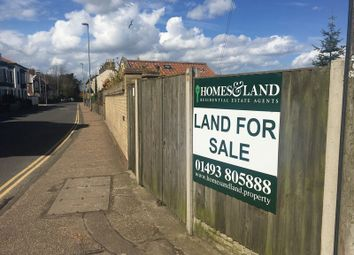Land for sale in Riverside Road, Gorleston, Great Yarmouth NR31