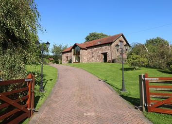 Thumbnail 4 bed barn conversion for sale in Llansoar, Caerleon, Newport