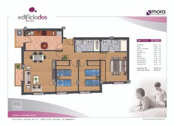 Thumbnail 3 bed apartment for sale in Calle Leandro Soler Roman 03206, Elche, Alicante