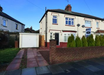 Thumbnail 3 bedroom semi-detached house for sale in Appletree Gardens, Walkerville, Newcastle Upon Tyne
