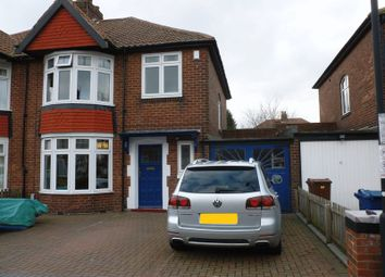 Thumbnail 3 bed semi-detached house to rent in Eastwood Gardens, Kenton, Newcastle Upon Tyne