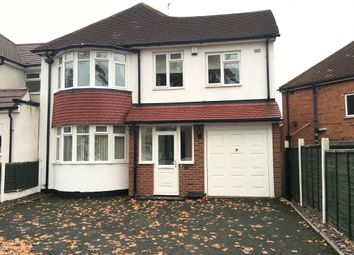 Thumbnail 4 bed detached house to rent in Delves Green Road, Delves, Walsall