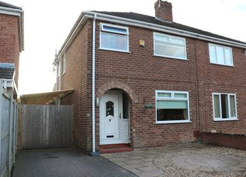 Thumbnail 3 bed semi-detached house for sale in Greenlea Close, Whitby, Ellesmere Port
