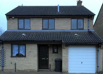Thumbnail 4 bed detached house to rent in Brackenwood, Orton Wistow, Peterborough