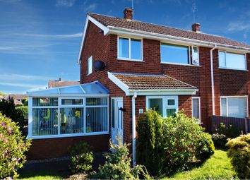 Thumbnail 3 bed semi-detached house for sale in Ffordd Mabon, Wrexham