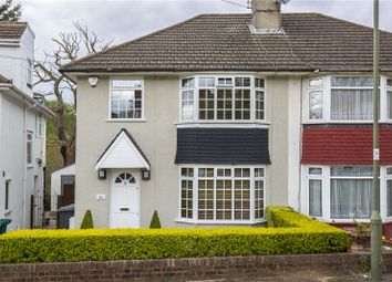 Thumbnail 3 bedroom semi-detached house for sale in Woodcote Avenue, Mill Hill, London