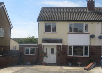 Thumbnail 3 bed semi-detached house for sale in Grenfell Close, Colchester