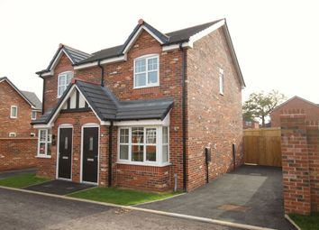 Thumbnail 2 bed semi-detached house for sale in Wrenmere Close, Sandbach