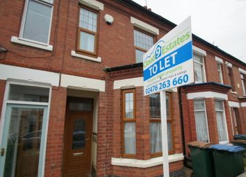 Thumbnail 2 bedroom terraced house to rent in St Osburgs Road, Coventry