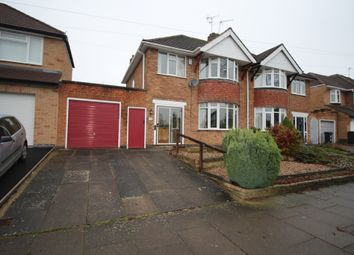 Thumbnail 3 bed terraced house to rent in Downing Drive, Leicester