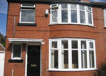 Thumbnail 4 bedroom semi-detached house to rent in Finchley Road, Manchester