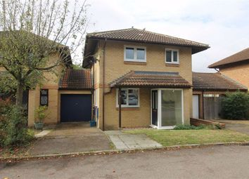 Thumbnail 3 bed link-detached house to rent in Albury Court, Great Holm, Milton Keynes