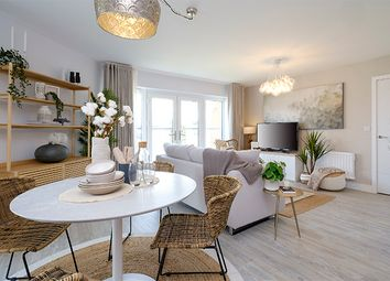 "Thumbnail 1 bed flat for sale in ""Enzo"" at Oxleigh Way, Stoke Gifford, Bristol"