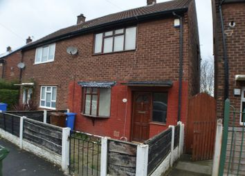 Thumbnail 2 bedroom property to rent in Manor Road, Denton, Manchester