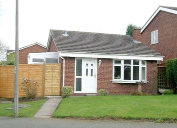 Thumbnail 2 bed detached bungalow to rent in Cheviot, Wilnecote, Tamworth, Staffordshire
