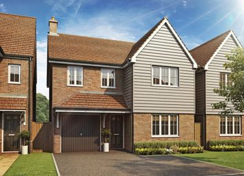 "Thumbnail 4 bed detached house for sale in ""The Downing"" at Mascalls Court Road, Paddock Wood, Tonbridge"