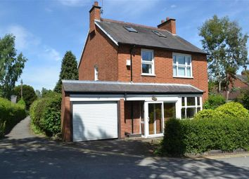 Thumbnail 4 bed detached house for sale in Church Road, Glenfield, Leicester