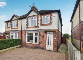 Thumbnail 3 bedroom semi-detached house for sale in Nottingham Road, Ripley