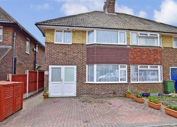 Thumbnail 3 bed semi-detached house for sale in St. Hildas Road, Hythe, Kent