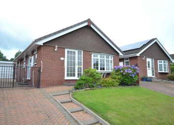 Thumbnail 2 bed detached bungalow for sale in Hulme Close, Silverdale, Newcastle-Under-Lyme