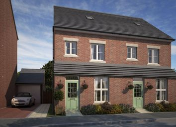 "Thumbnail 3 bed terraced house for sale in ""Woodstone"" at Whitworth Park Drive, Houghton Le Spring"