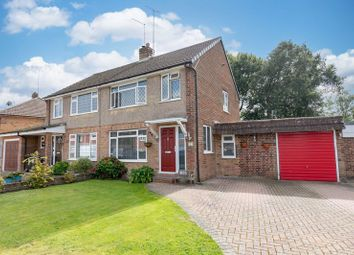 Thumbnail 3 bed semi-detached house for sale in Akehurst Close, Copthorne, West Sussex