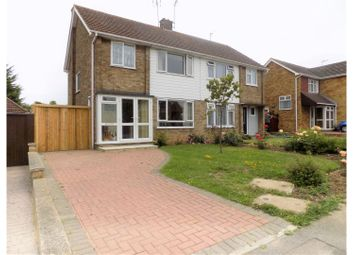 Thumbnail 3 bed semi-detached house for sale in The Rise, Sheerness