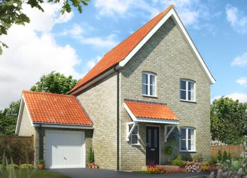 Thumbnail 3 bed detached house for sale in Norwich Road, Watton
