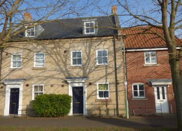 Thumbnail 3 bedroom town house to rent in Spring Lane, Bury St. Edmunds