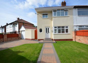 Thumbnail 3 bed semi-detached house for sale in Durley Drive, Prenton