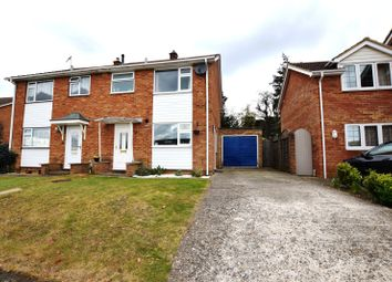 Thumbnail 3 bed semi-detached house for sale in Robins Bow, Camberley, Surrey
