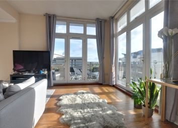 Thumbnail 2 bed flat to rent in Isis House, Bridge Wharf, Chertsey
