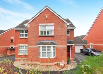 Thumbnail 4 bed detached house for sale in Knights Crescent, Exeter