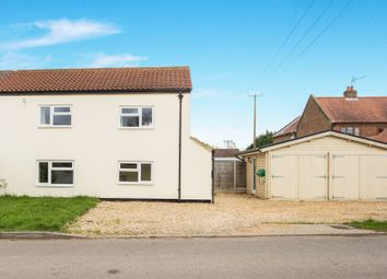 Thumbnail 4 bed semi-detached house for sale in St Peters Road, Wiggenhall St. Germans, King's Lynn