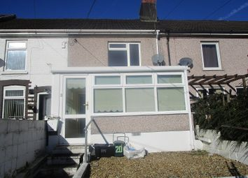 Thumbnail 2 bed terraced house for sale in Canal Terrace, Ystalyfera, Swansea.