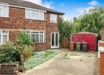 Thumbnail 3 bed semi-detached house for sale in Sherwood Avenue, Peterborough