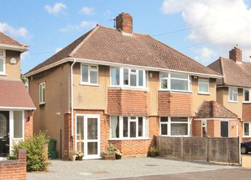 Thumbnail 4 bed semi-detached house for sale in Herschel Crescent, Oxford