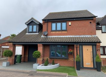 Thumbnail 3 bed semi-detached house for sale in Tarragon Close, Bradwell, Great Yarmouth