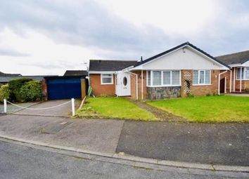 Thumbnail 3 bed bungalow for sale in Melford Rise, Burntwood, Staffordshire