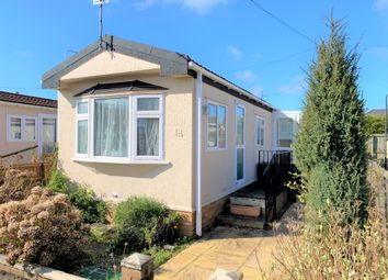 Thumbnail 2 bed mobile/park home for sale in Hillview Park Homes, Locking Road, Weston-Super-Mare