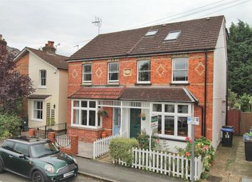 Thumbnail 3 bed semi-detached house for sale in Station Road, West Byfleet