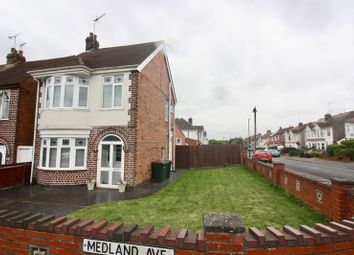 Thumbnail 3 bed detached house for sale in Medland Avenue, Coventry