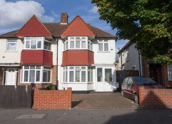 Thumbnail 4 bed semi-detached house for sale in Conway Gardens, Mitcham