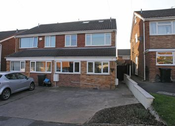 Thumbnail 4 bed semi-detached house for sale in Stourbridge, Penfields, Brecon Drive