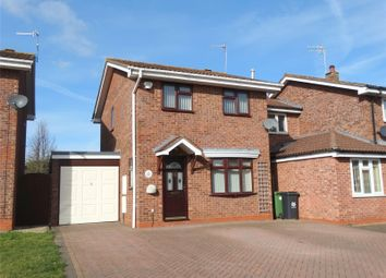 Thumbnail 3 bed detached house to rent in Grayling Close, Worcester