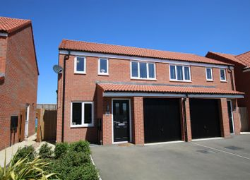 Thumbnail 3 bed semi-detached house for sale in Snow Close, Holdingham, Sleaford
