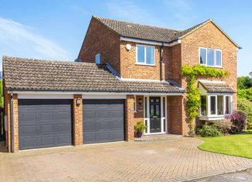 Thumbnail 4 bed detached house for sale in Lakefield Avenue, Little Paxton, St. Neots