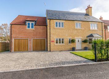 Thumbnail 4 bed detached house for sale in Castle Lane, Great Easton, Market Harborough