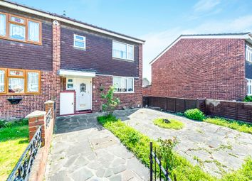 Thumbnail 3 bed end terrace house for sale in Abberton Walk, Rainham