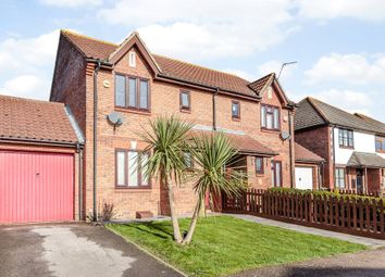 Thumbnail 3 bed semi-detached house for sale in Downs Grove, Basildon, Essex